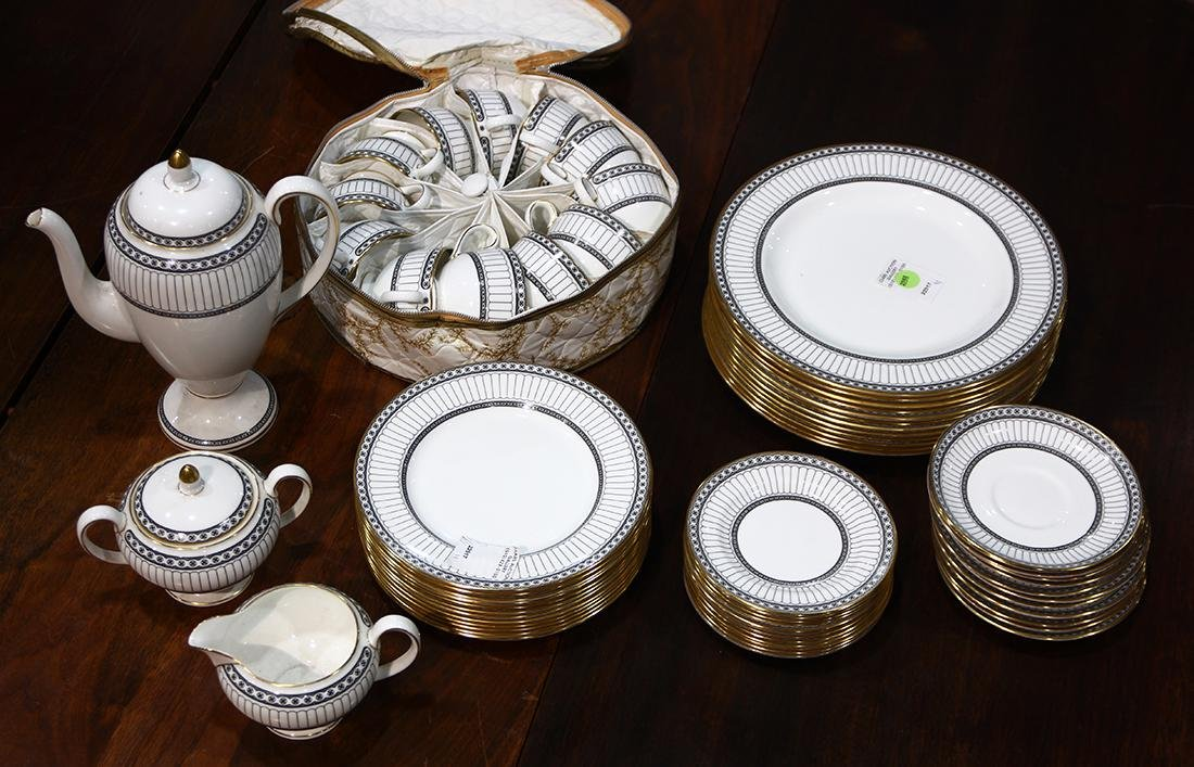Wedgwood china table service for twelve