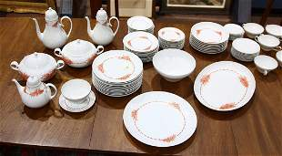 Rosenthal china service in the Romanze pattern