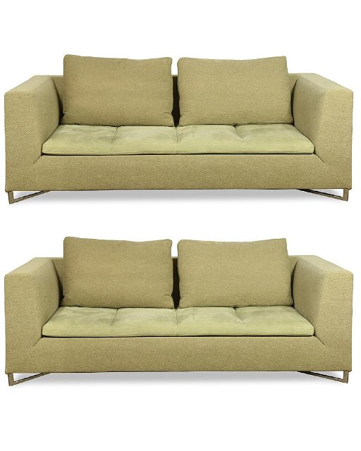 Ligne Roset Two Piece Sofa Set