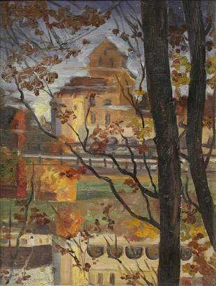 Painting Alfred Juergens
