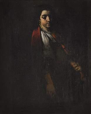 Painting Theodule Augustin Ribot