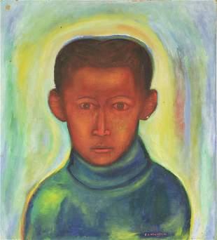 Painting Francis Nnaggenda