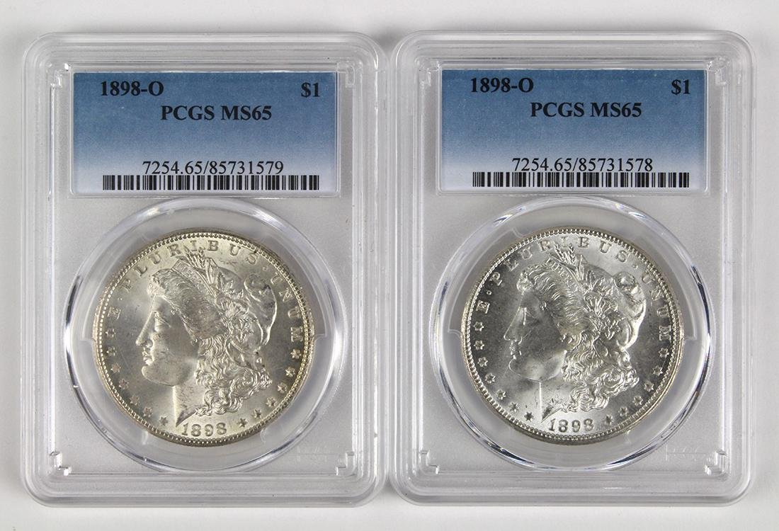 United States Morgan silver dollars