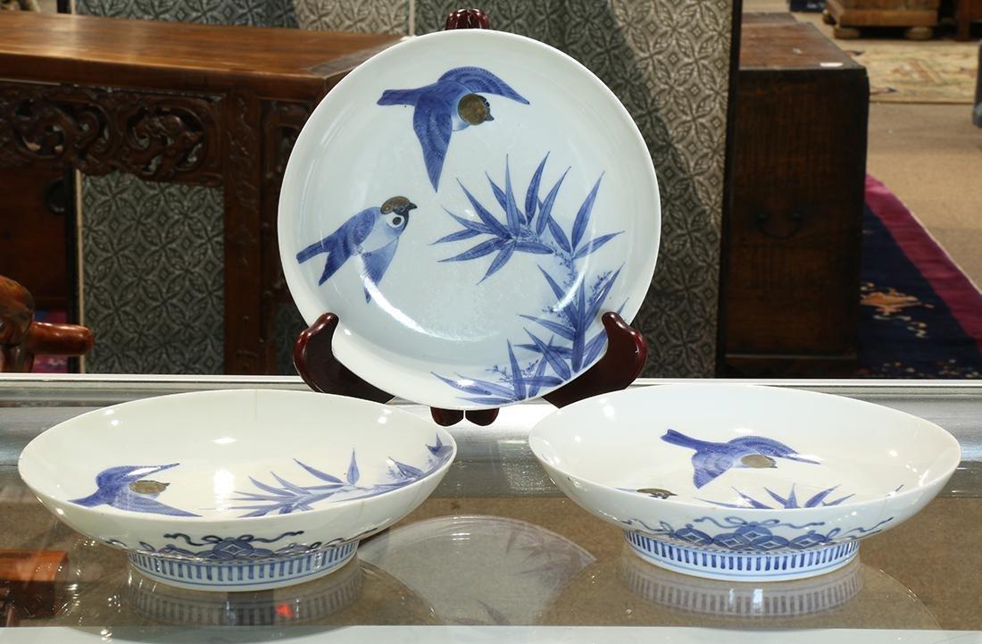 Japanese Nabeshima Porcelain Plates, Edo period