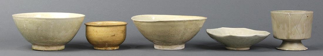 Vietnamese Glazed Bowls and Cup