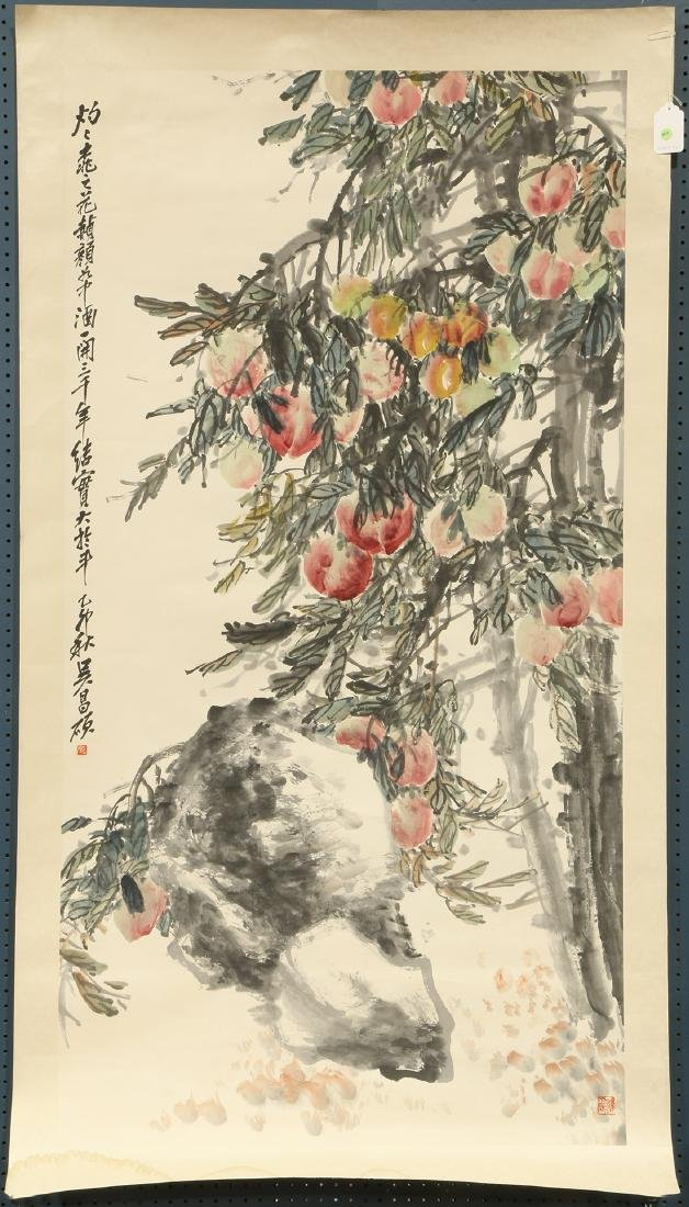 Chinese Painting, Manner of Wu Changshuo