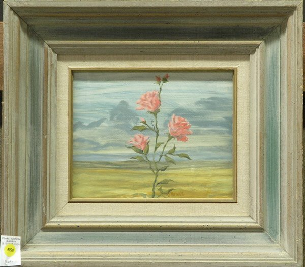 4000: Painting, Floral, Morall