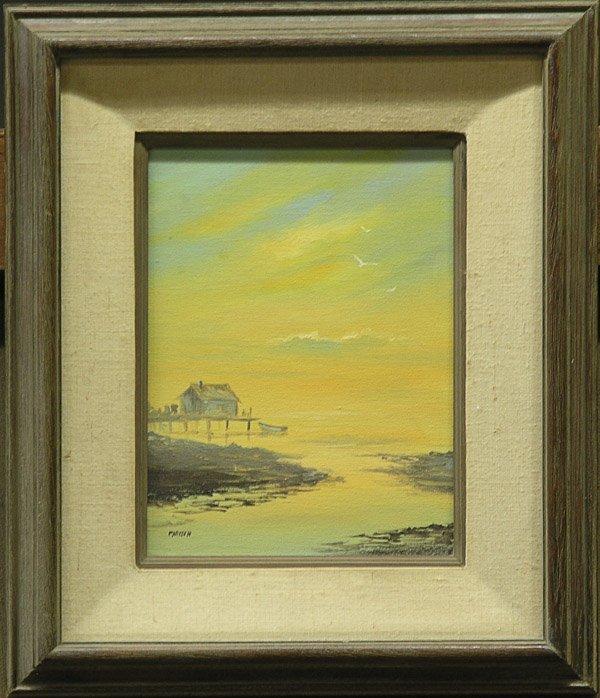 4001: Painting, Landscape, Parisch