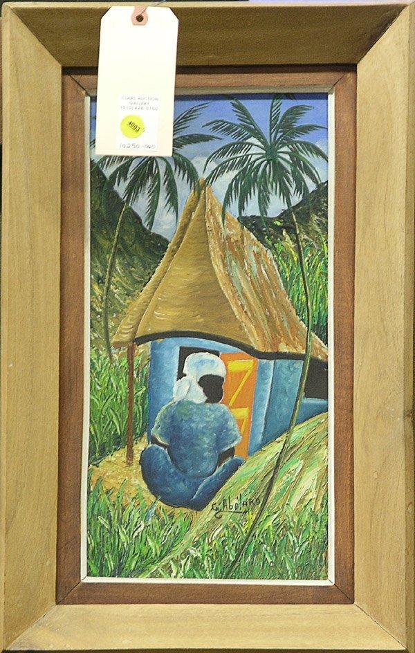 4003: Painting Gessner Abelard Haitian genre