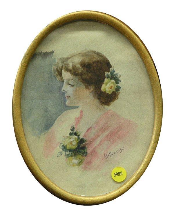4005: Watercolor, Portrait, Diver