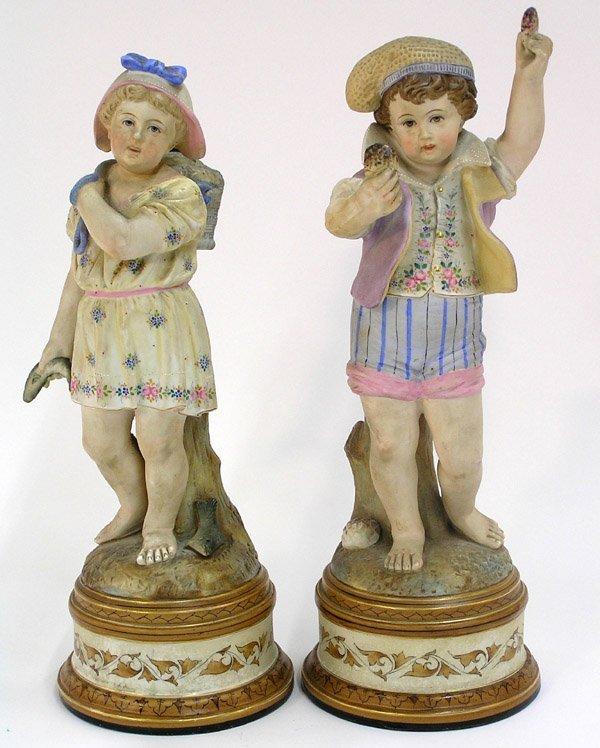 4019: German bisque figures
