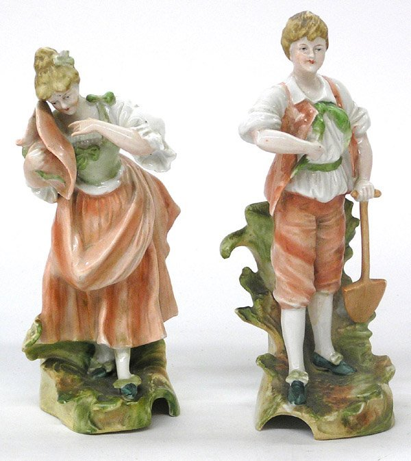 4021: German porcelain figures