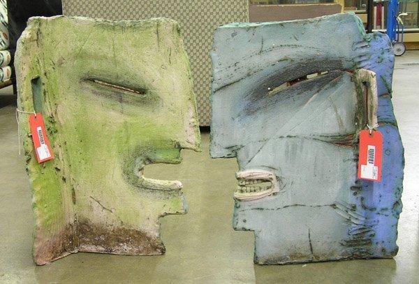 4180: ceramic sculpture Judy Moonelis