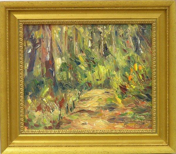 6004: Painting, John Dominique, Californian