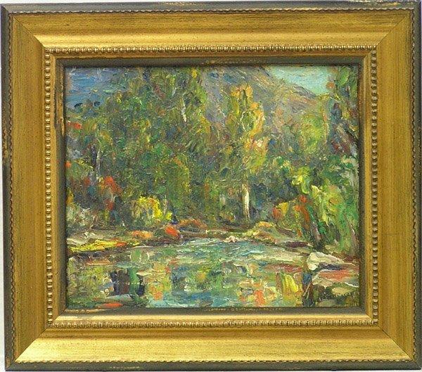 6006: Painting, John Dominique, Californian