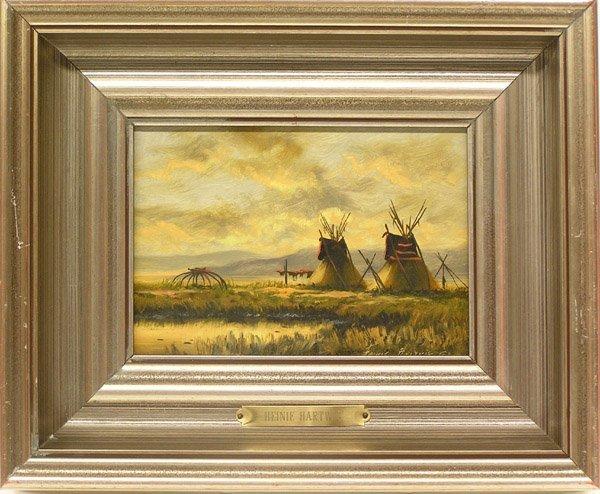 6014: Painting, Heinie Hartwig, Californian