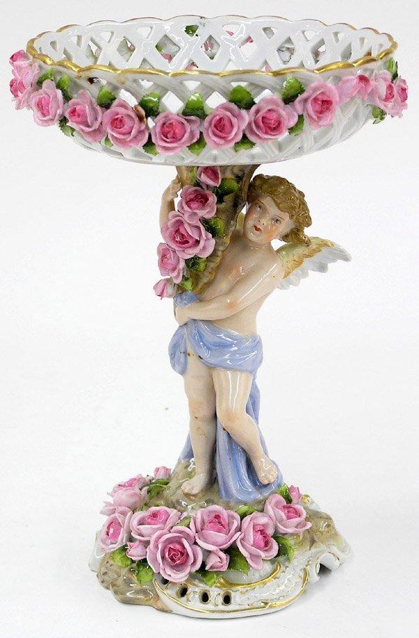 6022: Von Schierholz porcelain compote