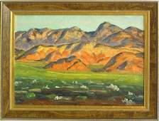 6170 Oil painting John Dominique Utah