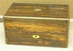 6388: Victorian rosewood jewelry box
