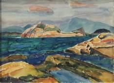 Watercolor C Bertram Hartman