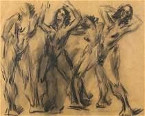 Work on paper, Hans Gustav Burkhardt