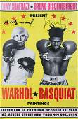 Print JeanMichel Basquiat and Andy Warhol