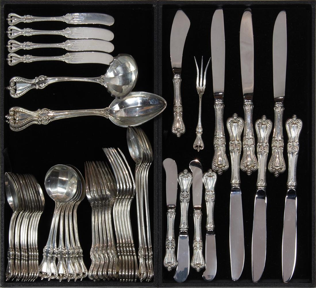 (lot of 47) Towle Silversmiths sterling silver flatware