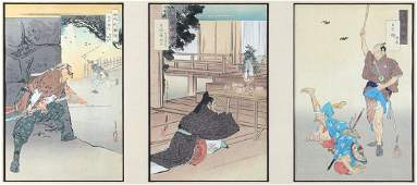 Japanese Woodblock Prints Ogata Gekko