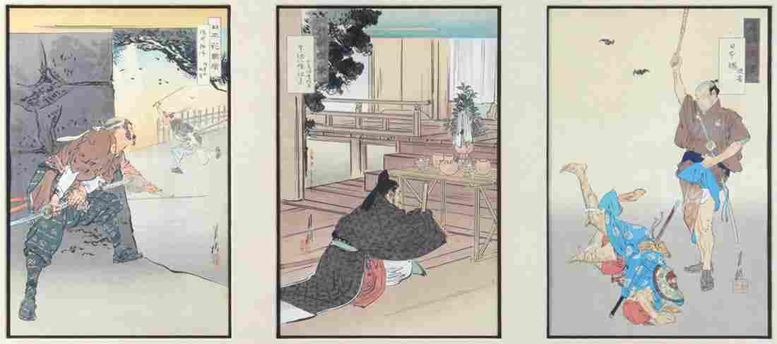 Japanese Woodblock Prints, Ogata Gekko