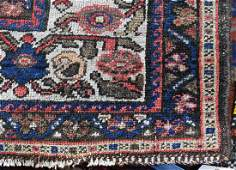 """Semi antique Persian Malayer carpet, 4'6"""" x 6'2"""""""