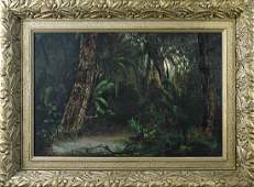 Painting, Tropical Forest