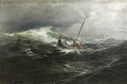 Painting, Carl Wilhelm Barth