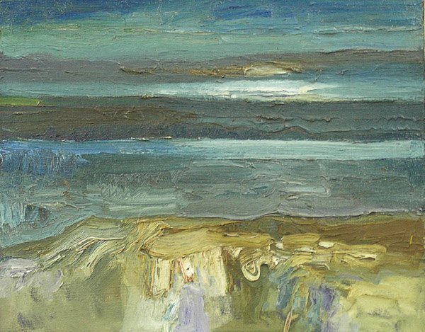 2014: Lundy Siegriest Oil Ocean Landscape