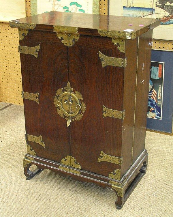 2447: Korean Wooden Bar Cabinet