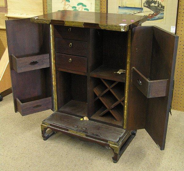 2447: Korean Wooden Bar Cabinet - 2
