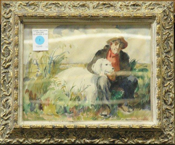1: Watercolor Robert von Noumann