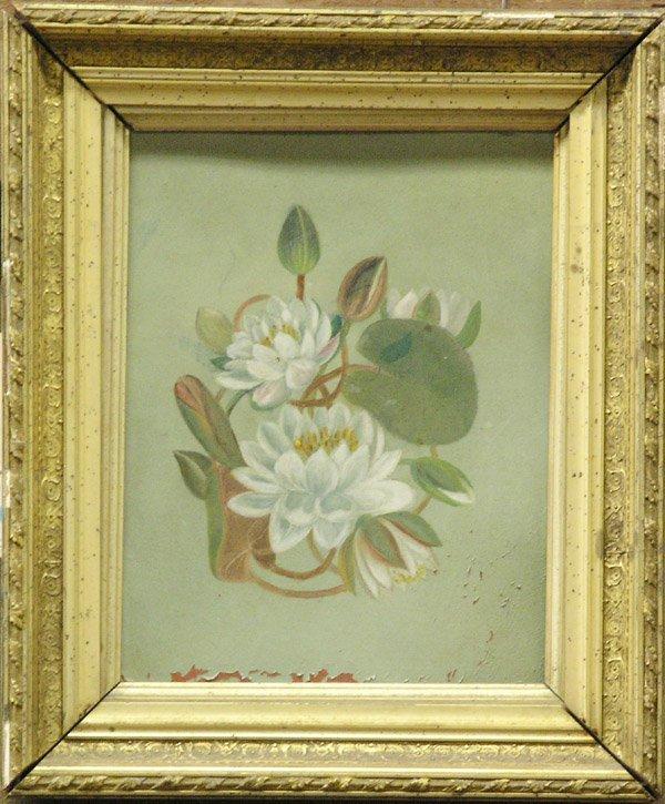 3: Oil painting Lotus