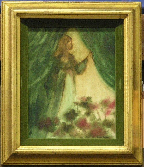 5: Oil painting Diana Harris Girl Wings