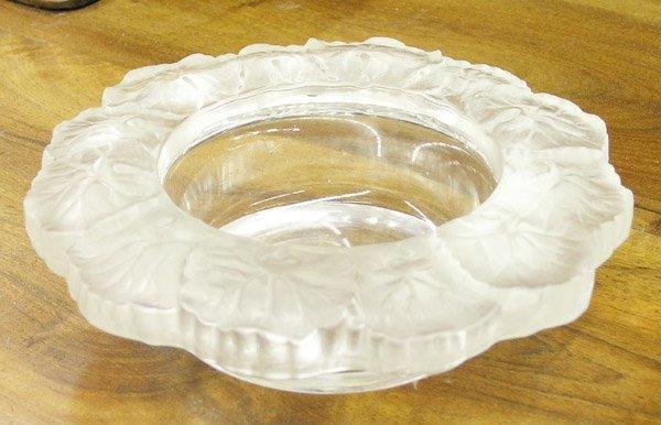 13: Lalique ''Honfleur'' pattern bowl