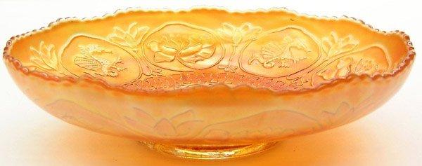 18: Fenton carnival glass low bowl