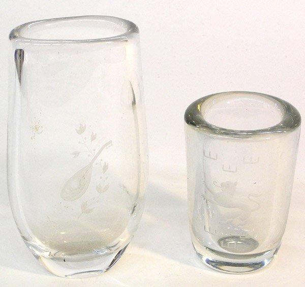 20: Crystal vase Kosta Boda Orrefors