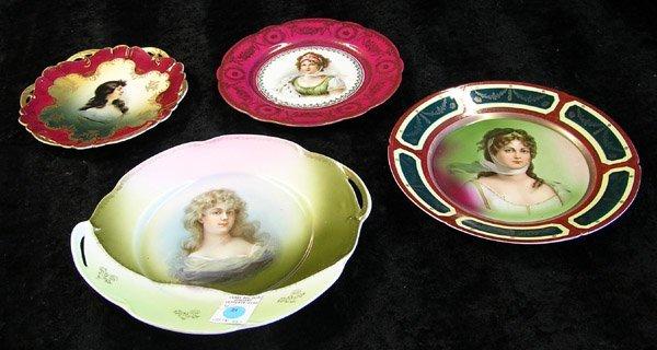 24: Continental porcelain plates