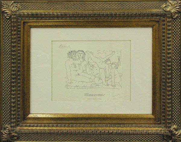 294: Lithograph Pablo Picasso Lysistrata