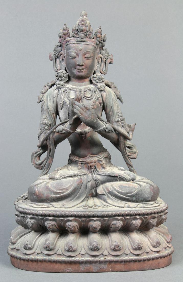 Sino-Tibetan Bronze Bodhisattva