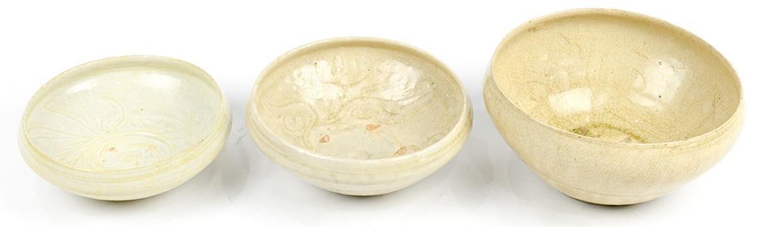 Vietnamese Straw Glazed Bowls