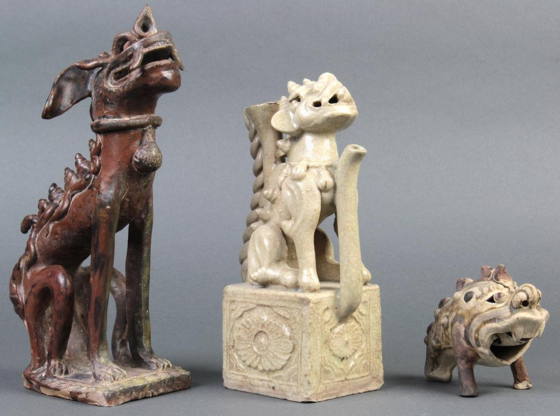 Vietnamese Zoomorphic Form Ceramics