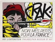 Print, Roy Lichtenstein