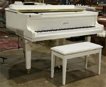 Ritmuller GP 142R1 white lacquer player baby grand