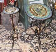 Spanish Revival tables circa 1920
