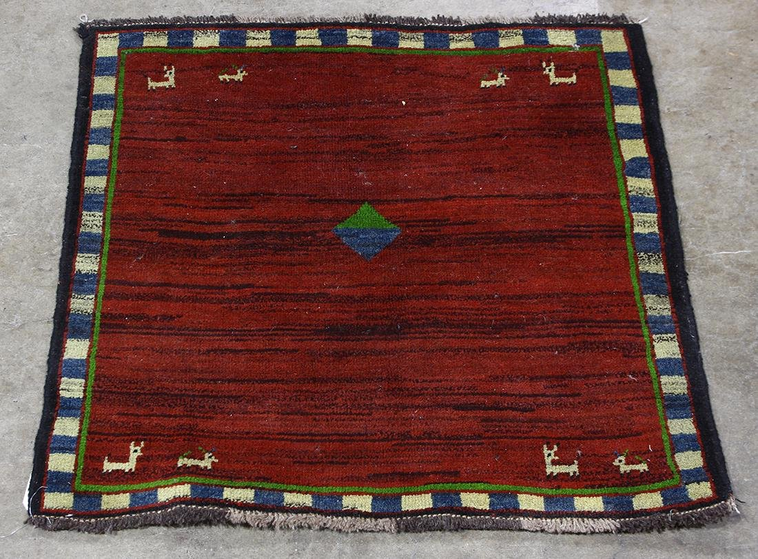 Modernist Tibetan carpet